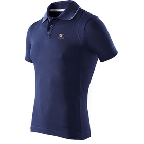 X-Bionic M's Travel Polo Shirt SS Blue Marine